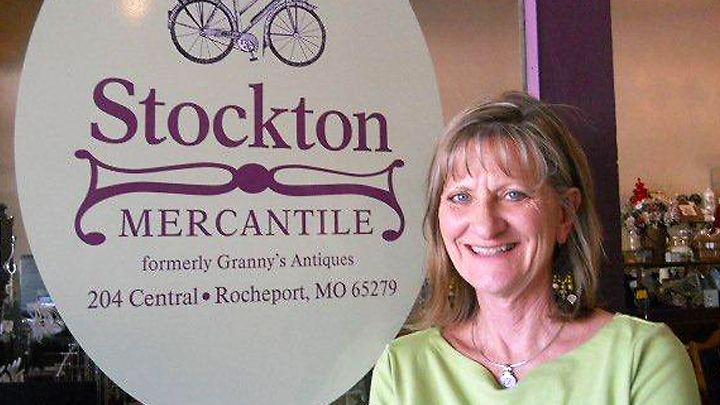 Diane Dunn, current owner of Stockton Mercantile